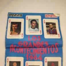 Coleccionismo deportivo: VIDA DEPORTIVA-LOS GRANDES ACONTECIMIENTOS DE 1964-NUMERO EXTRA-VER FOTOS-(V-22.613). Lote 248814525