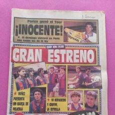 Collezionismo sportivo: DIARIO SPORT 1988 CALENDARIO LIGA 88/89 - PRESENTACION BARÇA - PERICO DELGADO TOUR. Lote 250334525