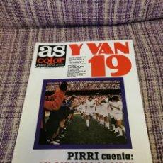 Coleccionismo deportivo: REVISTA AS COLOR NÚMERO 420 SIN PÓSTER. Lote 251056625