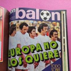 Coleccionismo deportivo: TOMO 16 REVISTAS DON BALON 1976 Nº 18-19-21-22-23-24-25-26-27-28-29-30-31-32-33-34. Lote 251315870