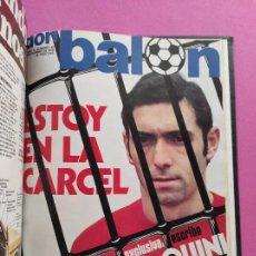 Coleccionismo deportivo: TOMO 16 REVISTAS DON BALON 1976 Nº 35-36-37-38-39-40-41-42-43-44-45-46-47-48-49-51. Lote 251316335