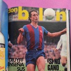Coleccionismo deportivo: TOMO 16 REVISTAS DON BALON 1977 Nº 86-87-88-89-90-91-92-93-94-95-96-97-98-99-100-101. Lote 251318065