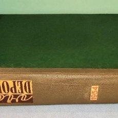 Coleccionismo deportivo: PERIODICO VIDA DEPORTIVA AÑO 1954 COMPLETO CON ALGUNO DEL MARCA DEL MISMO AÑO EN MUY BUEN ESTADO. Lote 251489685