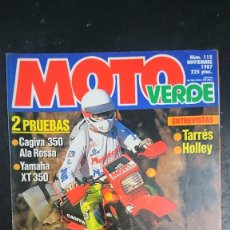 Colecionismo desportivo: REVISTA MOTO VERDE Nº 112. Lote 251505790