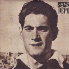 Coleccionismo deportivo: VIDA DEPORTIVA RAMALLETS VOLVIO A SER RAMALLETS 1952 C. H. CATALUÑA DE HOCKEY PATINES EN EUROPA. Lote 251610280