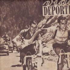 Coleccionismo deportivo: VIDA DEPORTIVA 1952 EL TOUR DE FRANCIA Y ESPAÑA EN EL CAMPEONATO MUNDIAL DE PATINES. Lote 251610745