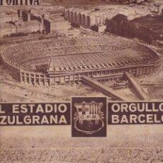 Coleccionismo deportivo: VIDA DEPORTIVA 7 A 0 EN LAS PALMAS VICTORIA DEL BARÇA RECORDS EN LA XXX TRAVESIA DEL PUERTO. Lote 251611455