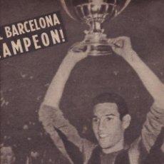 Coleccionismo deportivo: HISTORIA Y ANECDOTA DE LOS TITULOS DE COPA GANADOS POR EL BARCELONA ESPECIAL 1959 VIDA DEPORTIVA. Lote 251611855