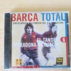 Coleccionismo deportivo: BARÇA TOTAL N6. EL TÁNDEM MARADONA-SCHUSTER. SIN ABRIR. Lote 251616925