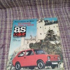Coleccionismo deportivo: REVISTA AS COLOR EXTRAORDINARIO DEL MOTOR SEAT 133. Lote 251785875