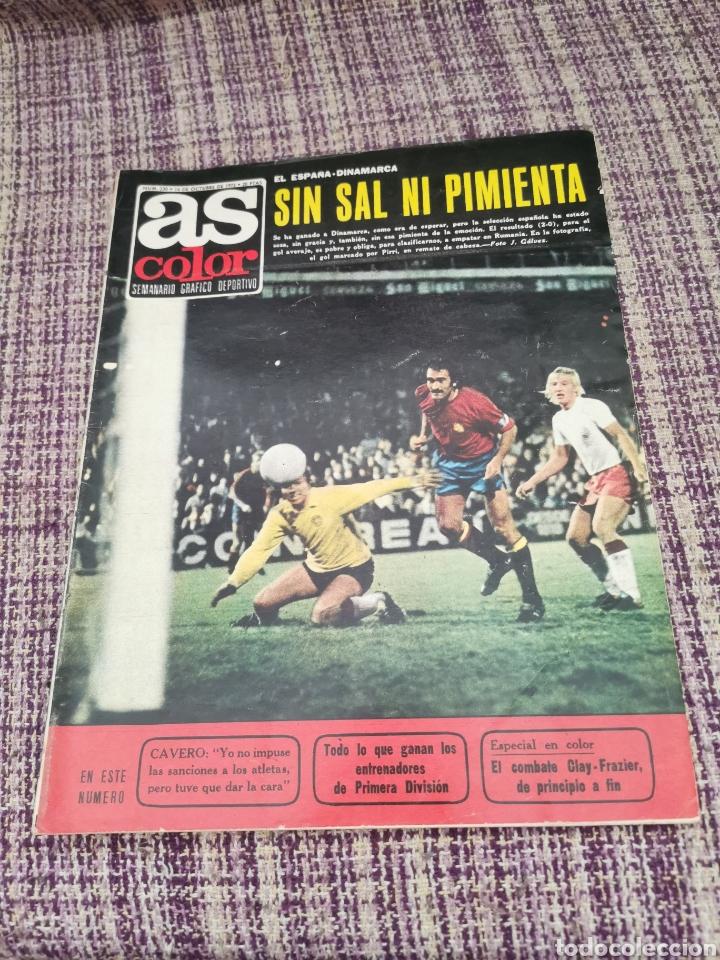 REVISTA AS COLOR NÚMERO 230 SIN PÓSTER (Coleccionismo Deportivo - Revistas y Periódicos - As)
