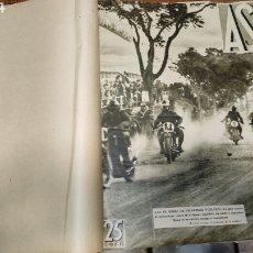 Coleccionismo deportivo: AS REVISTA DEPORTIVA DE 1932-33 SOBRE 34 EJEMPLARES EN UN TOMO DEL NÚMERO 1 DEL AÑO UNO A.... Lote 251855960