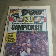"""Collezionismo sportivo: SPORT 23 AGOSTO 1984 BARCA 3 BAYERN 1. CAMPIONS !!! DEL JOAN GAMPER. """"EXTRA GAMPER """". 20 PAGS. Lote 251901315"""