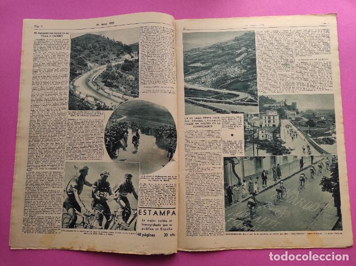 Coleccionismo deportivo: PERIODICO AS 1935 Nº EXTRAORDINARIO GUSTAVO DELOOR GANADOR PRIMERA VUELTA CICLISTA - ALEMANIA-ESPAÑA - Foto 2 - 251932615