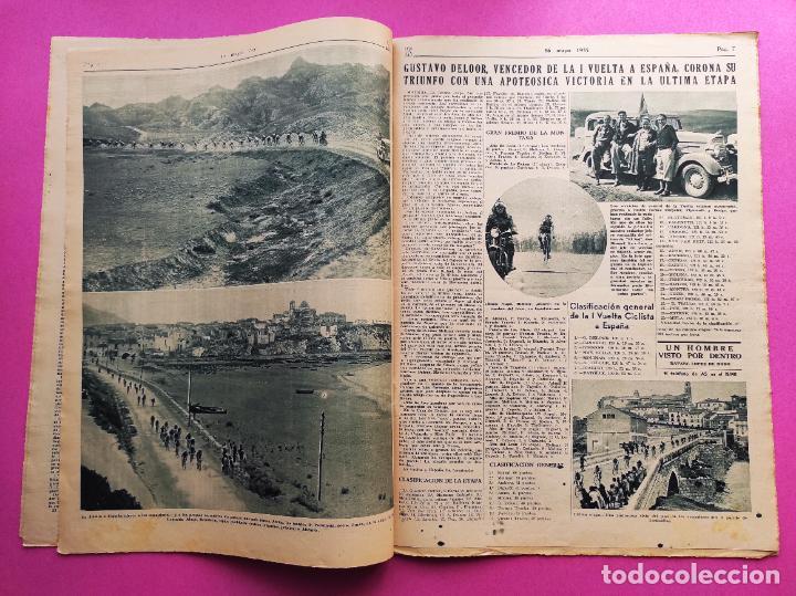 Coleccionismo deportivo: PERIODICO AS 1935 Nº EXTRAORDINARIO GUSTAVO DELOOR GANADOR PRIMERA VUELTA CICLISTA - ALEMANIA-ESPAÑA - Foto 3 - 251932615