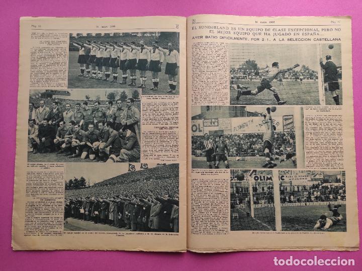 Coleccionismo deportivo: PERIODICO AS 1935 Nº EXTRAORDINARIO GUSTAVO DELOOR GANADOR PRIMERA VUELTA CICLISTA - ALEMANIA-ESPAÑA - Foto 6 - 251932615