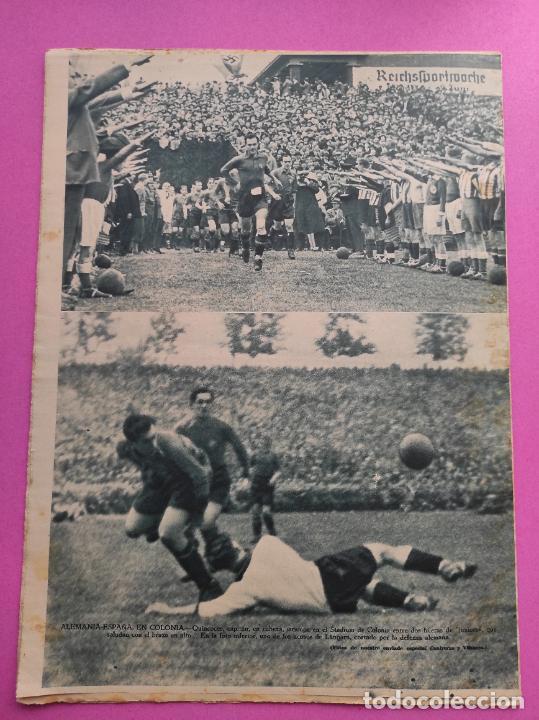 Coleccionismo deportivo: PERIODICO AS 1935 Nº EXTRAORDINARIO GUSTAVO DELOOR GANADOR PRIMERA VUELTA CICLISTA - ALEMANIA-ESPAÑA - Foto 7 - 251932615