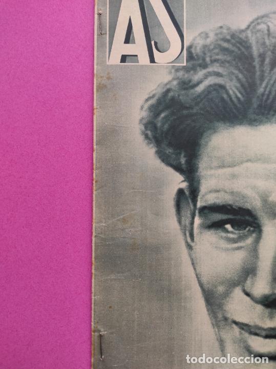 Coleccionismo deportivo: PERIODICO AS 1935 Nº EXTRAORDINARIO GUSTAVO DELOOR GANADOR PRIMERA VUELTA CICLISTA - ALEMANIA-ESPAÑA - Foto 9 - 251932615
