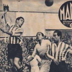 Coleccionismo deportivo: MARCA Nº 147 MADRID 1941 EN CHAMARTIN MADRID 1 ESPAÑOL 1 VALENCIA 7 ALICANTE 1 EN MESTALLA ETC.. Lote 252025790