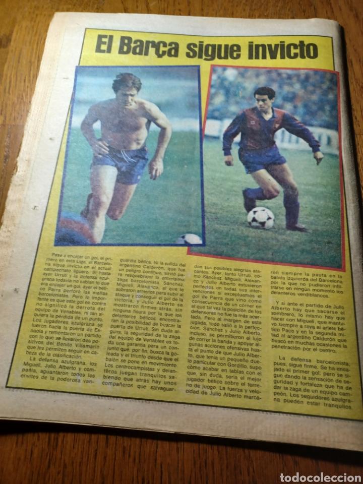 Coleccionismo deportivo: SPORT 30 SEPTIEMBRE 1984. BARCA: ¡MAS LIDER !. BETIS 1 BARCA 2 - JORGE VALDANO -KARPOV , KASPAROV - Foto 13 - 252386555