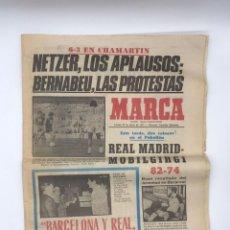 Coleccionismo deportivo: PERIODICO DEPORTIVO MARCA - 20 DE ENERO DE 1977. Lote 252422390