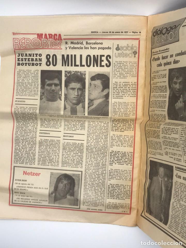 Coleccionismo deportivo: PERIODICO DEPORTIVO MARCA - 20 DE ENERO DE 1977 - Foto 5 - 252422390
