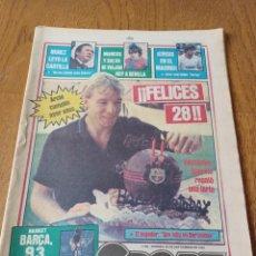 Coleccionismo deportivo: SPORT 28 SEPTIEMBRE 1984. ARCHI CUMPLIÓ 28 AÑOS . CRISIS EN EL MADRID. ESPAÑA RUMBO A MÉXICO 86. Lote 252452470
