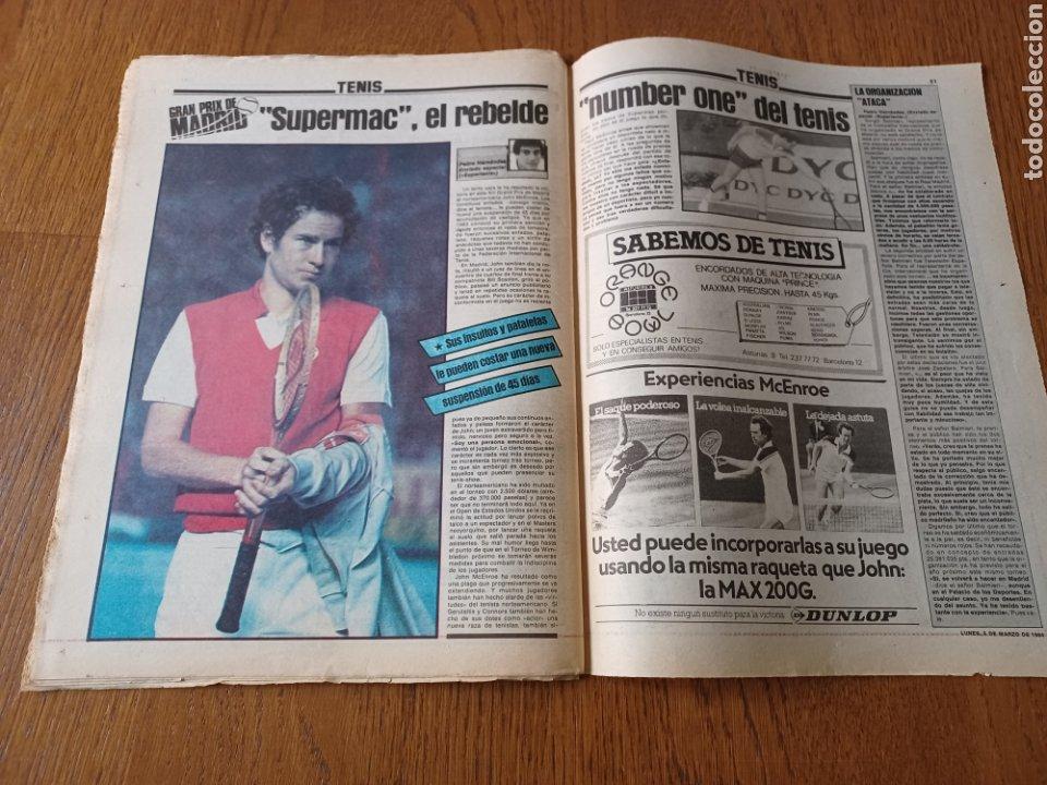 Coleccionismo deportivo: SPORT 5 MARZO 1984. AT.MADRID 1 R.MADRID 0. ATHLETIC 1 ESPAÑOL 1 . SE CALIENTA LA LIGA - Foto 12 - 252454305