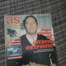 Coleccionismo deportivo: REVISTA AS COLOR NÚMERO 168. Lote 252656915