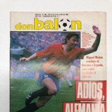 Collectionnisme sportif: 3 REVISTAS DON BALÓN EUROCOPA 1988. Lote 252696685