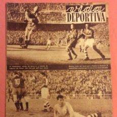 Coleccionismo deportivo: VIDA DEPORTIVA N- 351. ESPAÑA 6- IRLANDA 0 . JUNIO 1952. Lote 252776545