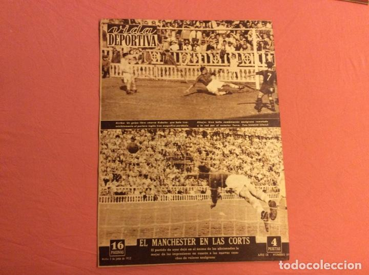 Coleccionismo deportivo: VIDA DEPORTIVA N- 351. ESPAÑA 6- IRLANDA 0 . JUNIO 1952 - Foto 3 - 252776545