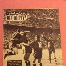 Coleccionismo deportivo: VIDA DEPORTIVA N- 239. ESPAÑA 5 - PORTUGAL 1. ABRIL 1950. Lote 252776855