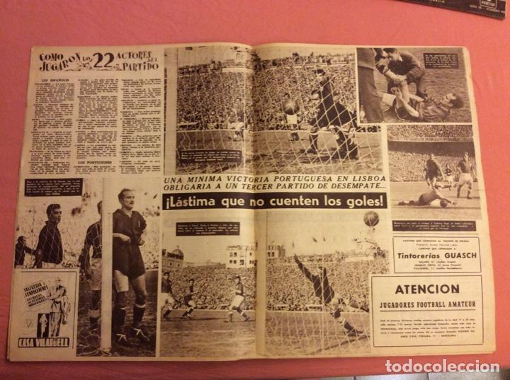 Coleccionismo deportivo: VIDA DEPORTIVA N- 239. ESPAÑA 5 - PORTUGAL 1. ABRIL 1950 - Foto 2 - 252776855