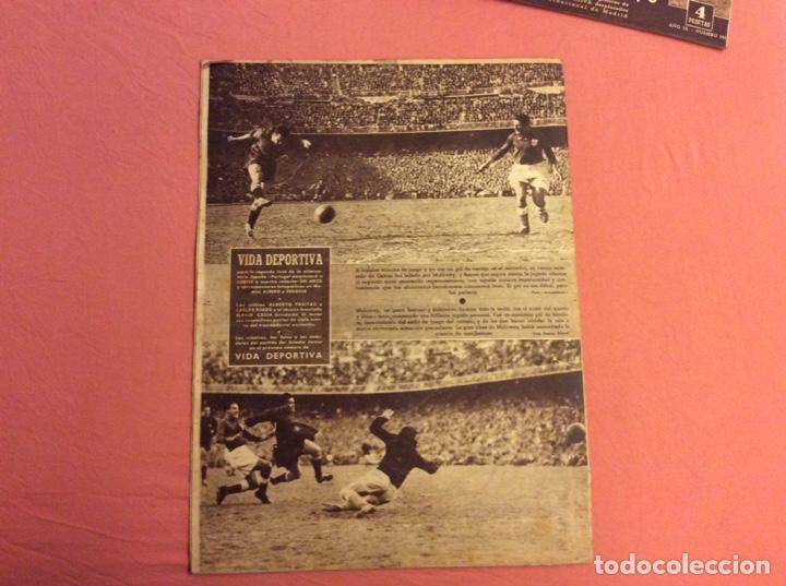 Coleccionismo deportivo: VIDA DEPORTIVA N- 239. ESPAÑA 5 - PORTUGAL 1. ABRIL 1950 - Foto 3 - 252776855