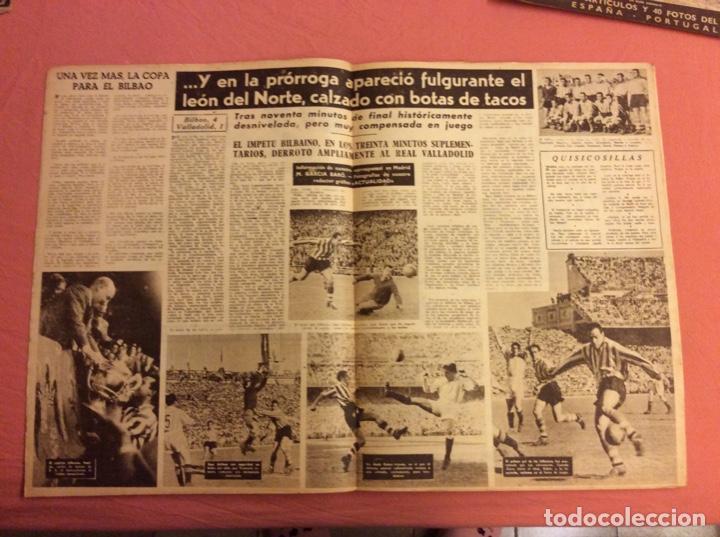 Coleccionismo deportivo: VIDA DEPORTIVA N- 247. LA COPA PARA EL BILBAO. MAYO 1950 - Foto 2 - 252777070