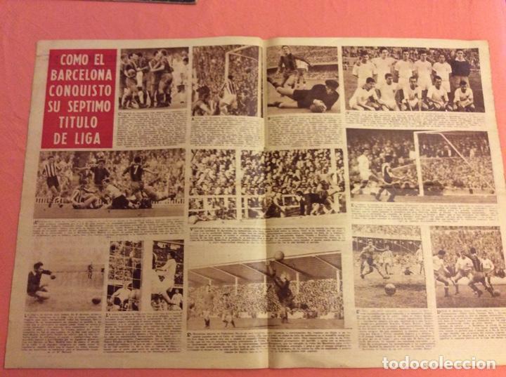 Coleccionismo deportivo: VIDA DEPORTIVA NUMERO EXTRAORDINARIO. BARCELONA CAMPEON DE LIGA 1958-59. ABRIL 1959 - Foto 2 - 252777380