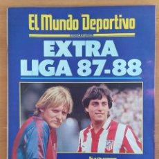 Coleccionismo deportivo: EL MUNDO DEPORTIVO EXTRA LIGA 87- 88 1987 1988 POSTER CENTRAL F. C. BARCELONA. Lote 252829105