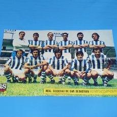 Coleccionismo deportivo: PÓSTER DE LA REAL SOCIEDAD - AS COLOR PÓSTER 13. Lote 252905690