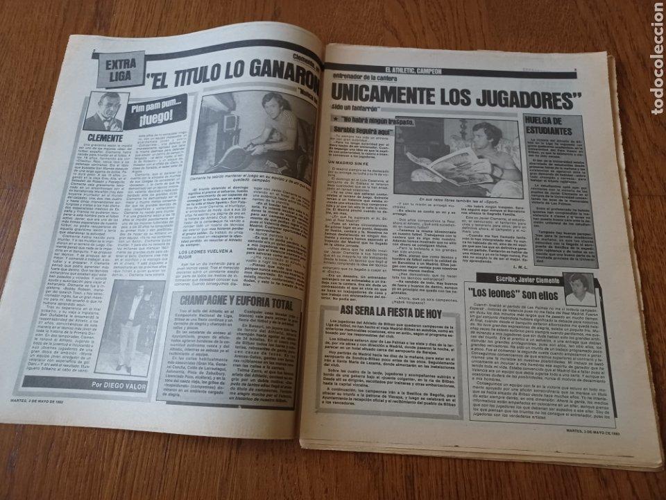 Coleccionismo deportivo: SPORT 3 MAYO 1983.CLEMENTE ¡EL HOMBRE DEL DIA!. MENOTTI ,YA PREPARA LA PRETEMPORADA.EXTRA LIGA 25 pg - Foto 2 - 253125210