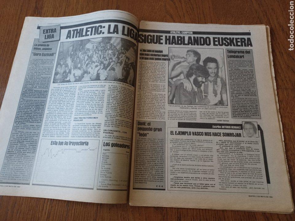 Coleccionismo deportivo: SPORT 3 MAYO 1983.CLEMENTE ¡EL HOMBRE DEL DIA!. MENOTTI ,YA PREPARA LA PRETEMPORADA.EXTRA LIGA 25 pg - Foto 5 - 253125210