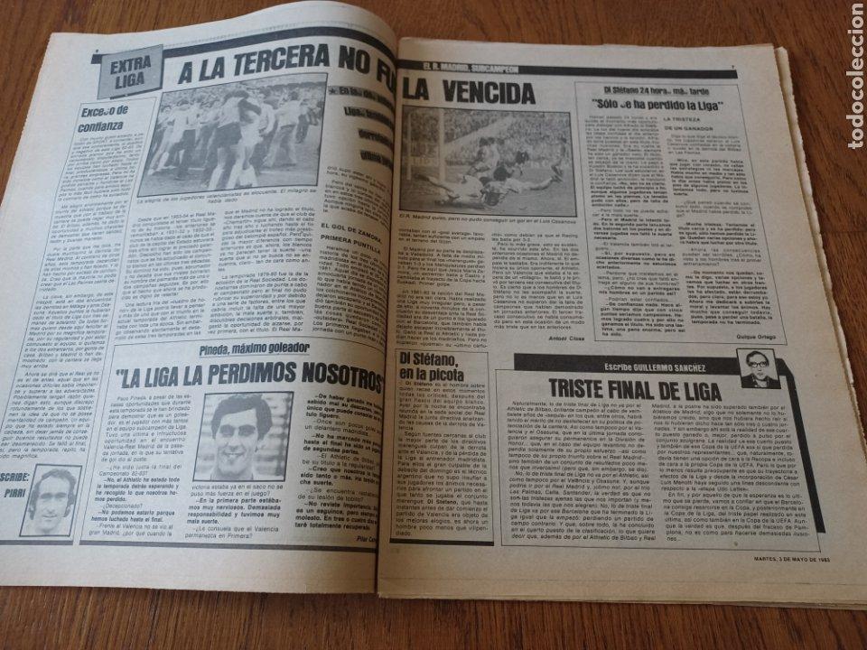 Coleccionismo deportivo: SPORT 3 MAYO 1983.CLEMENTE ¡EL HOMBRE DEL DIA!. MENOTTI ,YA PREPARA LA PRETEMPORADA.EXTRA LIGA 25 pg - Foto 4 - 253125210