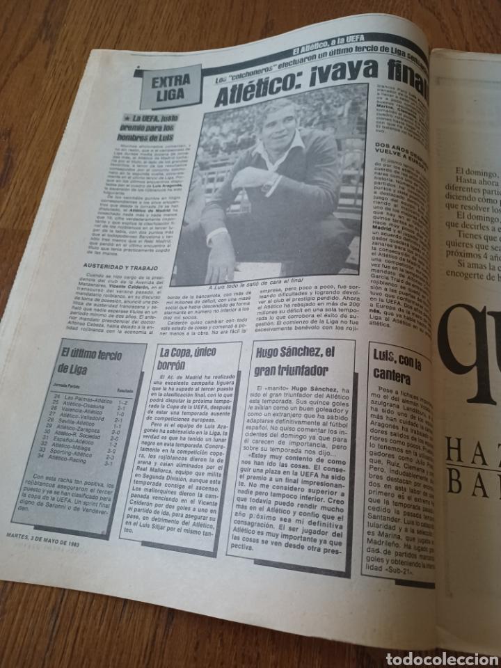 Coleccionismo deportivo: SPORT 3 MAYO 1983.CLEMENTE ¡EL HOMBRE DEL DIA!. MENOTTI ,YA PREPARA LA PRETEMPORADA.EXTRA LIGA 25 pg - Foto 3 - 253125210