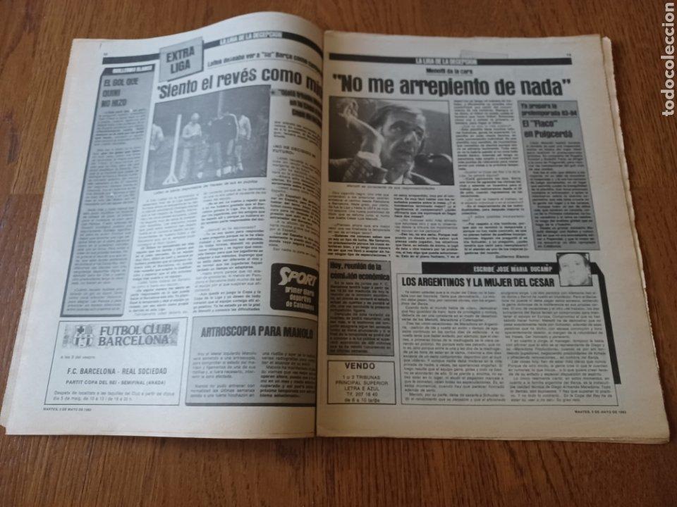Coleccionismo deportivo: SPORT 3 MAYO 1983.CLEMENTE ¡EL HOMBRE DEL DIA!. MENOTTI ,YA PREPARA LA PRETEMPORADA.EXTRA LIGA 25 pg - Foto 7 - 253125210