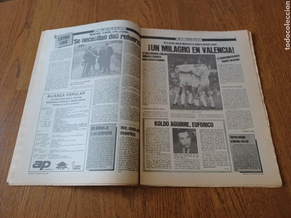 Coleccionismo deportivo: SPORT 3 MAYO 1983.CLEMENTE ¡EL HOMBRE DEL DIA!. MENOTTI ,YA PREPARA LA PRETEMPORADA.EXTRA LIGA 25 pg - Foto 8 - 253125210