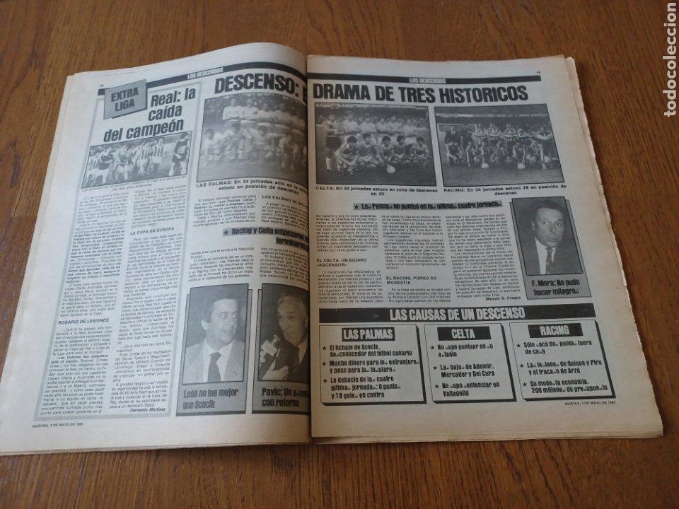 Coleccionismo deportivo: SPORT 3 MAYO 1983.CLEMENTE ¡EL HOMBRE DEL DIA!. MENOTTI ,YA PREPARA LA PRETEMPORADA.EXTRA LIGA 25 pg - Foto 9 - 253125210