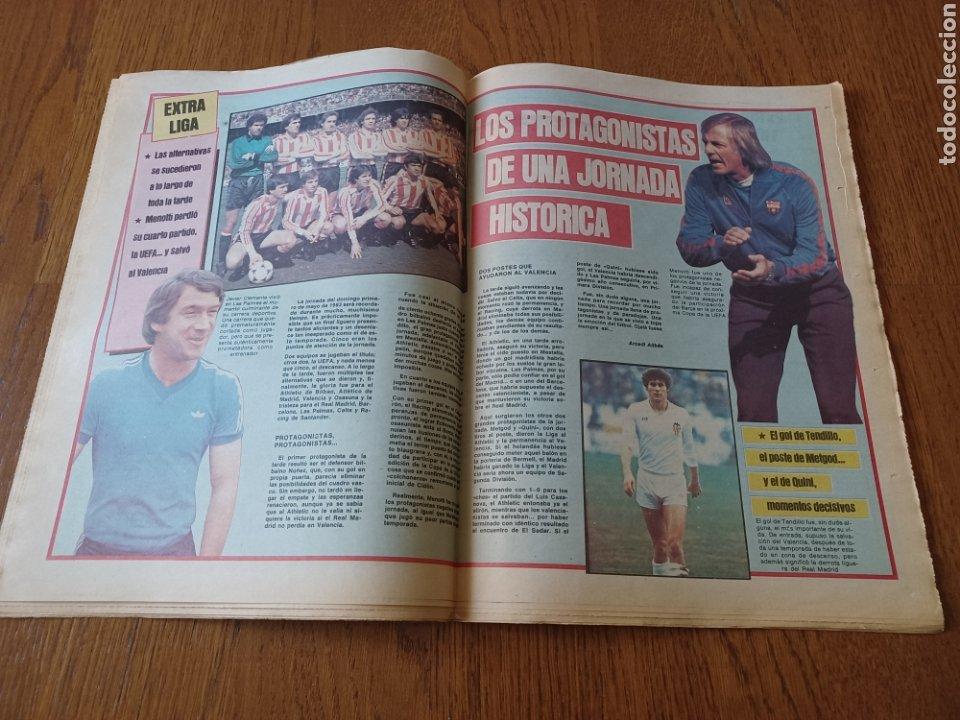 Coleccionismo deportivo: SPORT 3 MAYO 1983.CLEMENTE ¡EL HOMBRE DEL DIA!. MENOTTI ,YA PREPARA LA PRETEMPORADA.EXTRA LIGA 25 pg - Foto 10 - 253125210