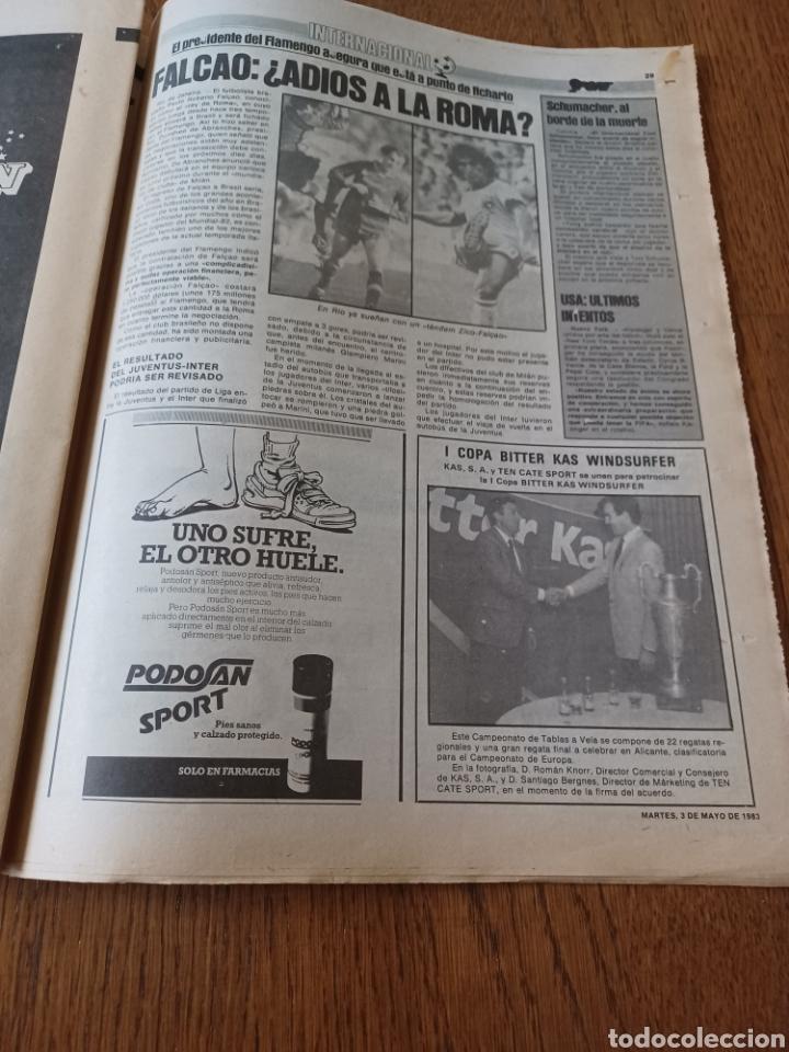 Coleccionismo deportivo: SPORT 3 MAYO 1983.CLEMENTE ¡EL HOMBRE DEL DIA!. MENOTTI ,YA PREPARA LA PRETEMPORADA.EXTRA LIGA 25 pg - Foto 13 - 253125210
