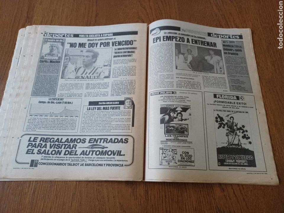 Coleccionismo deportivo: SPORT 3 MAYO 1983.CLEMENTE ¡EL HOMBRE DEL DIA!. MENOTTI ,YA PREPARA LA PRETEMPORADA.EXTRA LIGA 25 pg - Foto 14 - 253125210