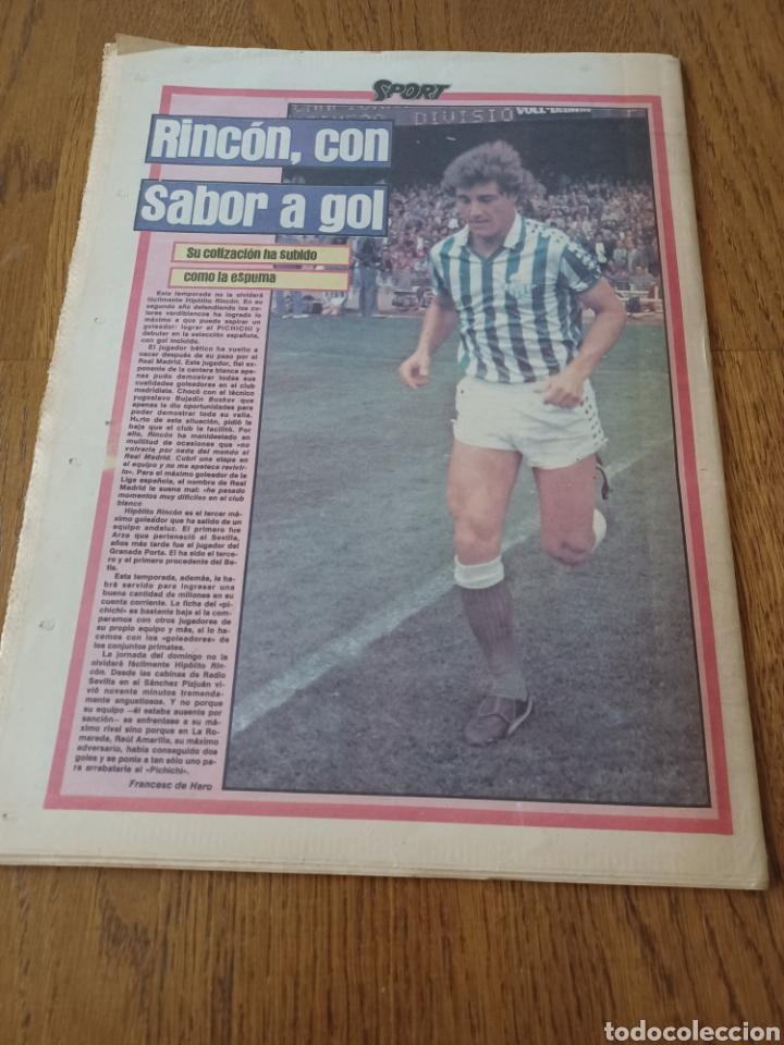 Coleccionismo deportivo: SPORT 3 MAYO 1983.CLEMENTE ¡EL HOMBRE DEL DIA!. MENOTTI ,YA PREPARA LA PRETEMPORADA.EXTRA LIGA 25 pg - Foto 15 - 253125210